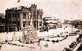 Skopje, razglednica so spomenik.jpg