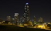 Skyline de Chicago desde el Aquario, Chicago, Illinois, Estados Unidos, 2012-10-20, DD 01.jpg