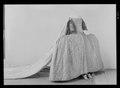 Släp till kröningsklänning, en s. k. robe de cour, Sofia Magdalena, 1772 - Livrustkammaren - 60435.tif