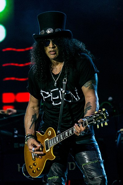 Picture of a band or musician: Slash