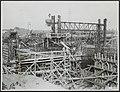 Sluisbouw te Tiel voor verbinding Amsterdam-Rijn. De lengte van de sluis wordt 3, Bestanddeelnr 123-1095.jpg