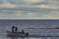 Small Fishing Boat on Lake Superior - Union Bay at BIg Iron River, Upper Peninsula, Michigan (33015266231).jpg