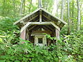 Small Shrine near Kobetsuzawa Tunnel.JPG