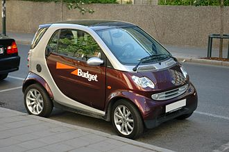 Budget Rent a Car - Smart Fortwo rental from Budget