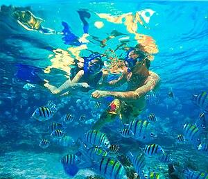 Snorkeling at Xel-Ha