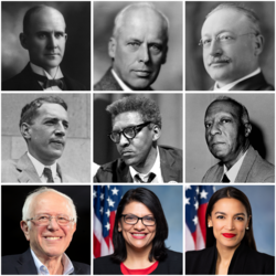 Socialism in the United States Collage