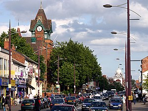 Handsworth, West Midlands - Image: Soho Road Handsworth Birmingham