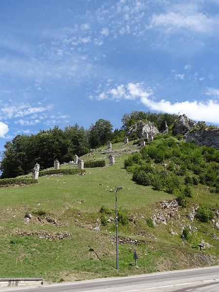 Sombacour (Doubs) - Mont-calvaire - vue générale