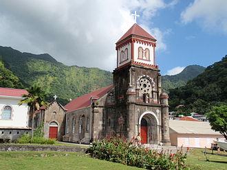 Saint Mark Parish, Dominica - Church in Soufrière