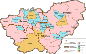 South Yorkshire - Image: South Yorkshire County