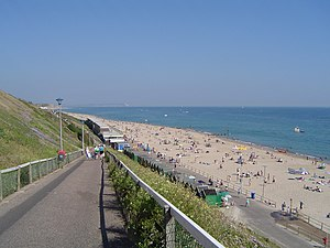 Southbourne, Dorset - Image: Southbournebeach