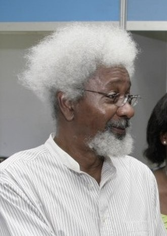 Postcolonial literature - Wole Soyinka, Nigerian playwright and poet and Nobel laureate in 1986