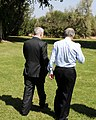Special Envoy Mitchell Walks With Israeli Prime Minister Netanyahu (5035603029).jpg