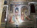 Spinello aretino, Caterina in prigione converte le dame e riceve la visita di Cristo 01.JPG