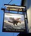 Spread Eagle Abingdon Morland Sign.jpg
