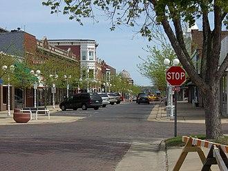 St. Joseph, Michigan - Downtown St. Joseph, May 2007