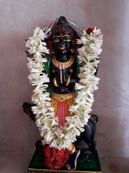 File:Sri Kala Bheruji, Suswani Mataji Dham, Karnataka.webp