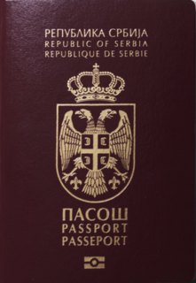 Serbian passport Passport of the Republic of Serbia issued to Serbian citizens