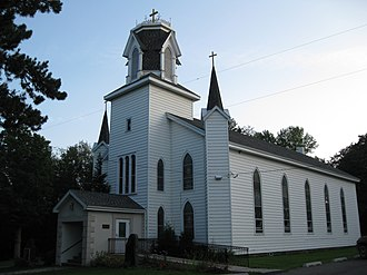 Silver Lake Township, Susquehanna County, Pennsylvania - St. Augustine's Catholic Church