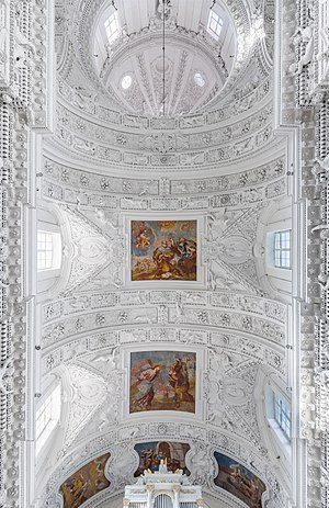 St. Peter and St. Paul's Church Ceiling, Vilnius