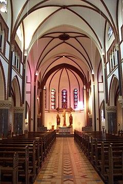 St. Sebastian (Bonn-Poppelsdorf) Innenansicht
