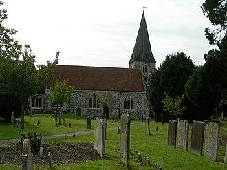 Cobham, Surrey - St. Andrew's Church, Cobham