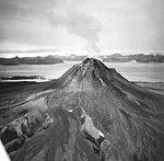 St Augustine Volcano, lava dome volcano, September 4, 1971 (GLACIERS 6810).jpg