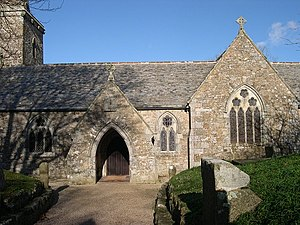 St Hilary's Church, St Hilary (Cornwall) - Image: St Hilary Church geograph.org.uk 107024