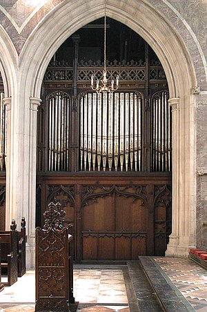St James's Church, Paddington - The organ