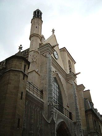 Nicolas Lebègue - Church of Saint-Merri, where Lebègue worked from 1664 until his death.
