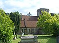 St Nicholas' Church, Peper Harow Park, Peper Harow (May 2014) (2).JPG