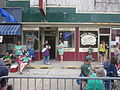 St Pats Metairie 2013 Outside Mark Twains Pizza.JPG
