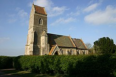 St Peter's Church, Clopton - geograph.org.uk - 422452.jpg