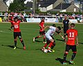 Stade rennais vs USM Alger, July 16th 2016 - Gourcuff Bellahcene.jpg