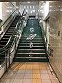 Stairs of Roppommatsu Station.jpg