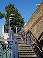 Stairway, Wandsworth Town station - geograph.org.uk - 532755.jpg