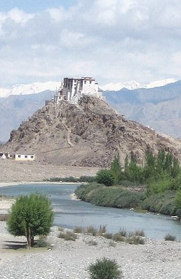 Stakna Gompa and Indus River.jpg