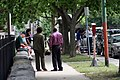 Standing and waiting for Obama (2787198011).jpg