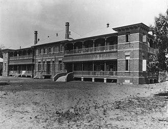 Cairns Hospital - Cairns Hospital after completion, 1914