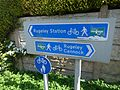 Station Road, Rugeley - signs - Cannock Chase Heritage Trail (34493809696).jpg