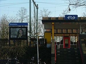 Rosmalen railway station - Image: Station Rosmalen 1