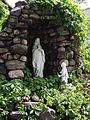 Statue devant le Couvent de Pont-Rouge - Pont-Rouge.JPG