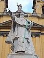 Statue of Péter Pázmány (1914), 2016 Józsefváros.jpg