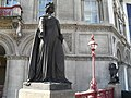 Statue on Holborn Viaduct (3) - geograph.org.uk - 1805858.jpg