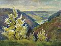 Stefan Filipkiewicz Krajobraz beskidzki z doliną rzeki 1920.jpg