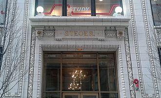 Steger, Illinois - The main entrance