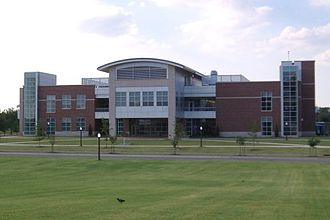 University of Oklahoma College of Engineering - The Stephenson Research Center located on Norman's south campus.