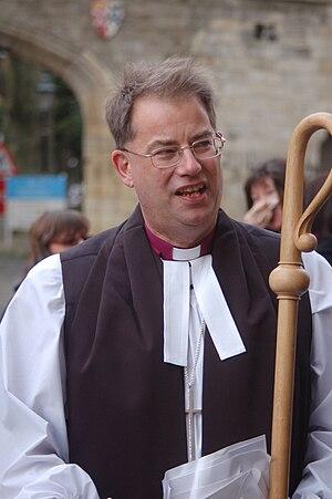 Steven Croft (bishop) - Croft after his consecration service