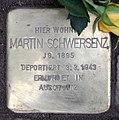 Stolperstein Bleibtreustr 17 (Charl) Martin Schwersenz.jpg