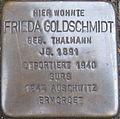 Stolperstein Karlsruhe Goldschmidt Frieda geb Thalmann.jpeg